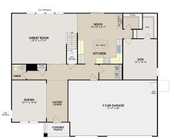 Ryland Homes Floor Plans Arizona by Rushmore Floor Plan In Turnberry Americana Collection