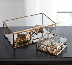 Callie Glass Boxes | Pottery Barn AU Antique Silver Jewellery Boxes Pottery Barn Au Jewelry Box Fine Living For Less Mckenna Leather Large Mirror Best 2000 Decor Ideas 25 Box On Pinterest Diy Jewelry Band Gagement Callie Glass Medium 262 Best Jewellery Boxes Images For Women Storage Australia Watches Find Products
