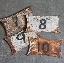 61 best Vintage Industrial Letters and Numbers images on Pinterest