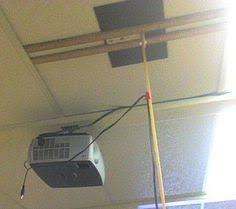 Diy Projector Mount Drop Ceiling by Hack An Ikea Stolman Shelf Into A Sturdy Projector Ceiling Mount