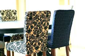 Faux Leather Dining Chair Covers Black Room For