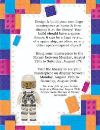 100 Lego Space Home Challenge TrussEvents