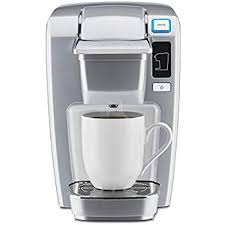Keurig K15 Single Serve Compact K Cup Pod Coffee Maker Platinum