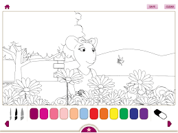 Angelina Ballerina S New Ballet Teacher IPad App Review Apps Coloring Pages Hello Kitty