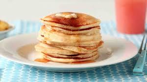 Pumpkin Cake Mix Pancakes by Basic Pancakes