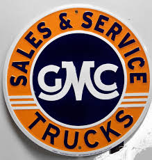 100 Truck Sales And Service GMC TRUCKS SALES SERVICE EMBOSSED RETRO METAL SIGN Old Time Signs