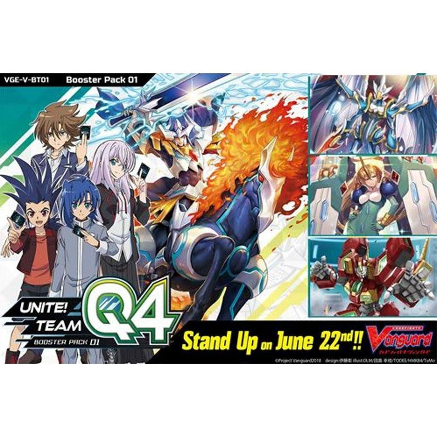 Cardfight!! Vanguard: V Booster - Unite! Team Q4