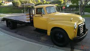 1951 Chevy 5 Window 2.5 Ton Deluxe Cab Car Carrier Flat Bed Tow Truck!!!