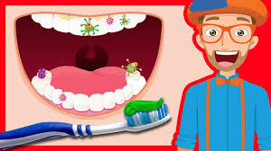 Tooth Brushing Song by Blippi
