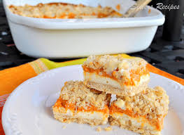 Libbys Pumpkin Oatmeal Bars by Crumbly Cheesecake Pumpkin Bars 2 Sisters Recipes By Anna And Liz