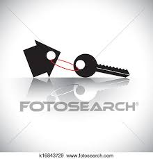 Clip Art Of Concept Vector Buying House