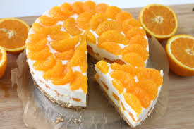 mandarinen quark torte