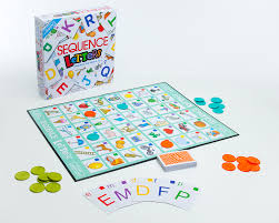 Sequence Letters JAX Games