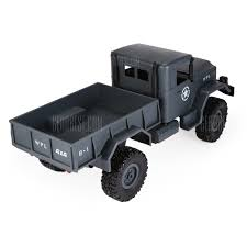 WPL B - 1 1:16 Mini Off-road RC Military Truck - RTR Only For $24.99 ... Wpl Wplb1 116 Rc Truck 24g 4wd Crawler Off Road Car With Light Cars Buy Remote Control And Trucks At Modelflight Shop Brushless Electric Monster Top 2 18 Scale 86291 Injora Hard Plastic 313mm Wheelbase Pickup Shell Kit For 1 Fayee Fy002b Rc 720p Hd Wifi Fpv Offroad Military Tamiya 110 Toyota Bruiser 4x4 58519 Fierce Knight 24 Ghz Pro System Hot Sale Jjrc Army Fy001b 24ghz Super Clod Buster Towerhobbiescom Hg P407 Rally Yato Metal 4x4