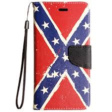 confederate flag wallet cell phone case dl grandeurs confederate