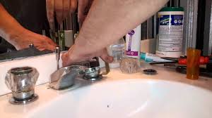 Gerber Abigail Kitchen Faucet by How To Take Off Stuck Faucet Handle Youtube