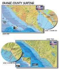 Orange County Surfing Map