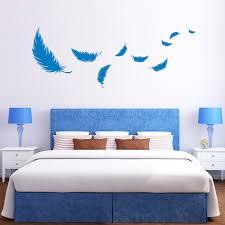 federn schlafzimmer wall decal