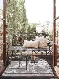 klein aber fein einen schmalen balkon gestalten westwing