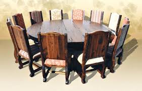 Large Dining Room Table Seats 12 Brilliant Round Decor Ideas And