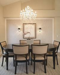 Elegant Chandeliers Dining Room Lovely Decor Transitional