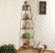 A Perfect Addition To Sun Room Or Kitchen This Scrolled Black Corner Shelf Gives Enough Space Highlight Everyday Use And Decorative Items Without