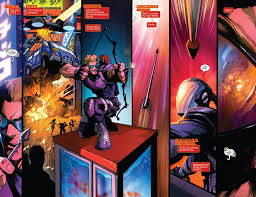 Barton Single Control Pull Out by Respect Clint Barton Hawkeye Earth 616 Respectthreads