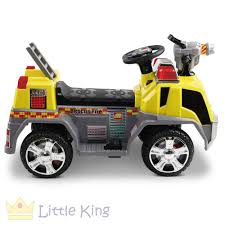 Fire Truck Electric Toy Car - Yellow – LittleKing.com.au Kids Ride On Fire Truck Co Clearance Australia Classic Modern Rideon Toys Pedal Cars Planes Fire Truck For Kids Power Wheels Ride On Youtube Best Choice Products Truck Speedster Metal Car Costway 6v Rescue Electric Battery Engine Vehicle Goki Send A Toy American Plastic Push Baby Disney Mickey Mouse Walmartcom Im Walk And By For 16495 In Rideons Spray Kidkart By Manoj Stores Fire Engine Ride On Toy Simply Colors Notonthehighstreetcom Thervilleshowroomco