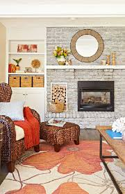 Paint Colors Living Room Red Brick Fireplace by Whitewash A Brick Fireplace