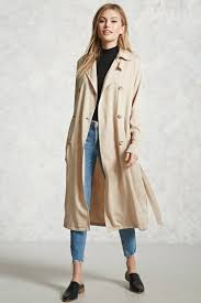 double breasted trench coat forever 21 2000229170