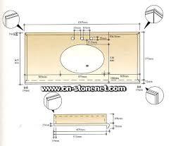 Ada Bathroom Counter Depth by Counter Depth Dimensions Excellent Brilliant Standard Bathroom