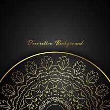 Fondo Mandala Decorativo Descargar Vectores Gratis