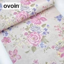 Buy Pink Flowers Wallpaper And Get Free Shipping On AliExpress