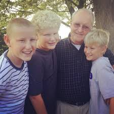 The Jensen Boys With Grandpa Gary