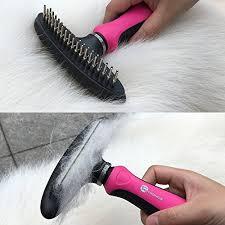 taotronics dog deshedding tool dog shedding brush best long