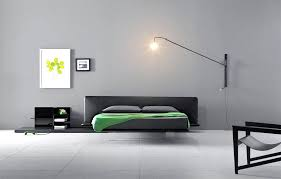 Gray Color Bedroom Ideas With Black Furniture