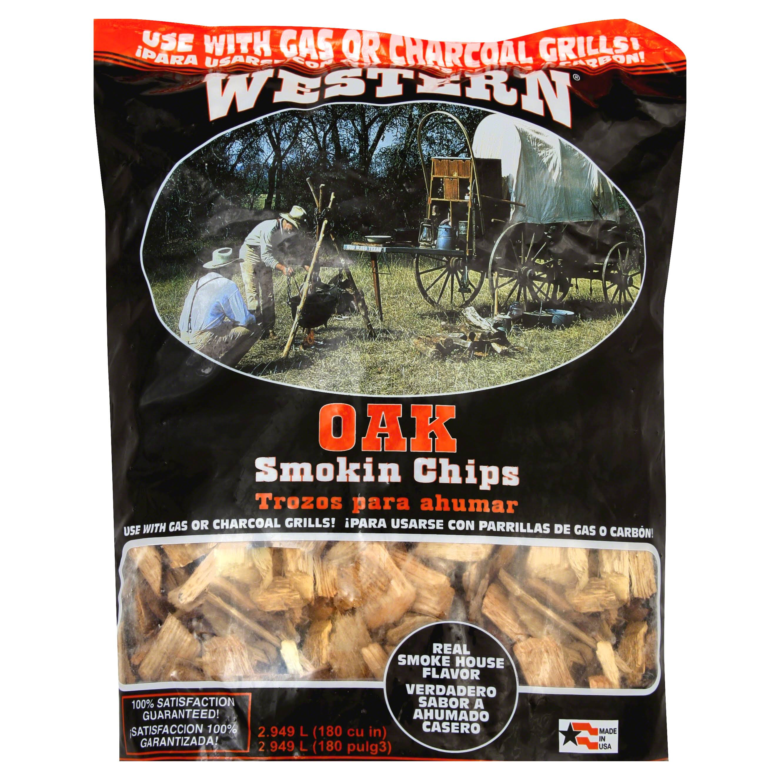 Western Smokin Chips, Oak