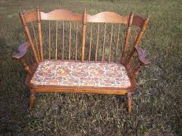 Tell City Chair Company Vintage Maple Love Seat Rocker | Projects In ... Sold Antique Mission Style Rocking Chair Refinished Maple And Leather Adams Northwest Estate Sales Auctions Lot 12 Vintage Wood Mini Rocker 3 Vintage Wood Carved Rocking Chairs Incl 1 Duck Design Seat Tell City Company Love Seat Projects In Childs Wooden Refurbished Autentico Bright White Victorian W Upholstered Back Wooden Chair Ldon For 4000 Sale Shpock With Patchwork Design On Backrest Batley West Yorkshire Gumtree Child Doll Red Checked Fabric