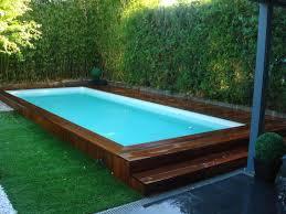 piscine bois semi enterrée haut de gamme raphael var