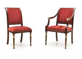 Classico Empire Bespoke Upholstered Dining Chairs MS0129 Custom  Made-To-Order