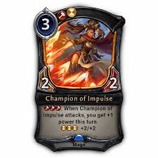 Best Mtg Deck Simulator by Omens Of The Past Spoiler Champion Of Impulse Eternal Warcry