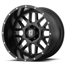 100 20 Inch Truck Rims KMC XDSERIES WHEELS XD8 GRENADE Satin Black Off Road