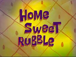 That Sinking Feeling Spongebob Transcript by Home Sweet Rubble Transcript Encyclopedia Spongebobia Fandom