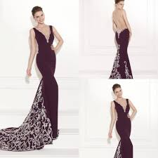deep purple evening gowns fashion show collection dresses ask