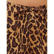lauren by ralph lauren leopard print pajama set lyst