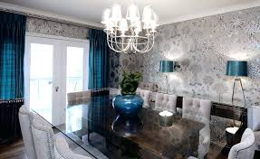 Wallpaper Ideas For Dining Room Splendid Decorating The Design