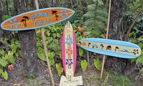 Decorative Surfboard With Shark Bite by Surfboard Decoration Iron Blog
