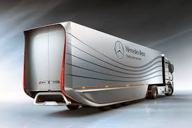 100 Aerodynamic Semi Truck Mercedes Benz Showcases Its Aero Trailer Concept In Belgium