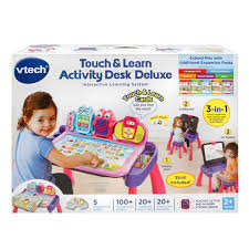 Step2 Art Master Activity Desk Teal by Amazon Com Vtech Touch And Learn Activity Desk Deluxe Pink Toys