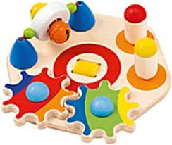 selecta kleinkindwelt holz motorikspielzeug minitivity 62036